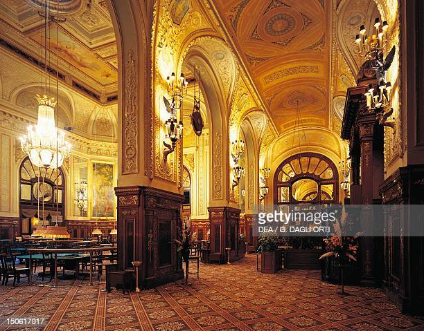 Gaming room at the Casino in MonteCarlo Principality of Monaco decoration late 19th centuryearly 20th century