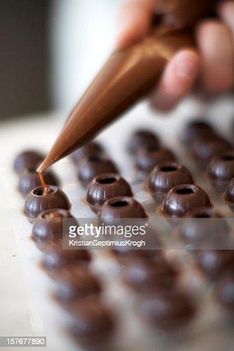 Ganach filled chocolates