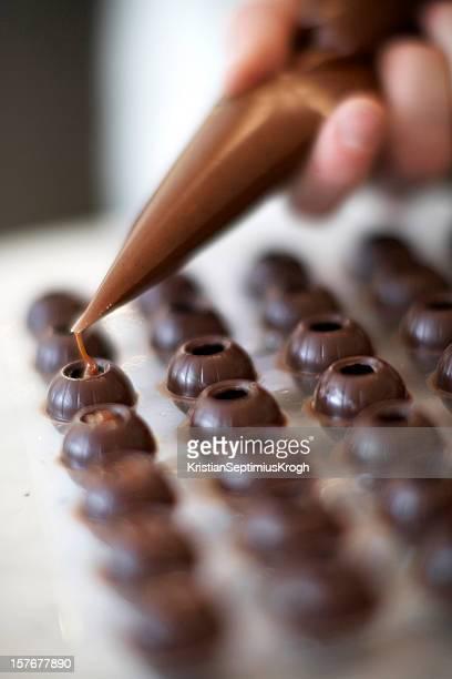 Ganach de chocolats