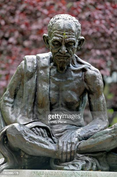 Gandhi sculpture, Tavistock Square.