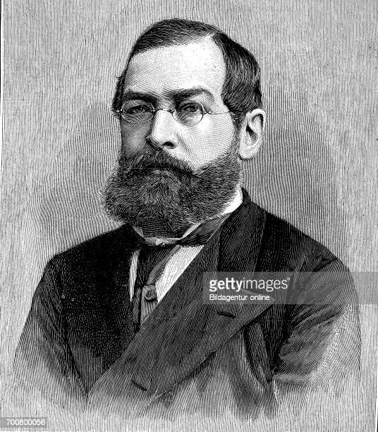 Gandolph Count of Kuenburg born May 12 1841 Braunsdorf Austrian Silesia died 2 May 1921 in Salzburg was an Austrian lawyer and politician Woodcut...