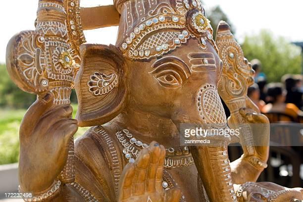 Ganesha at an indian hindu wedding