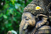 Ganesha made of stone in bali