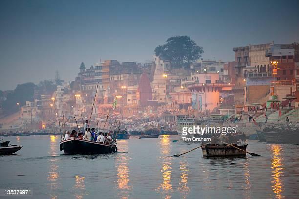 Ganges River at Varanasi, India