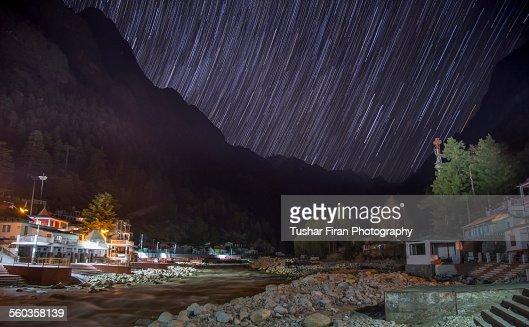 Gangotri star trail
