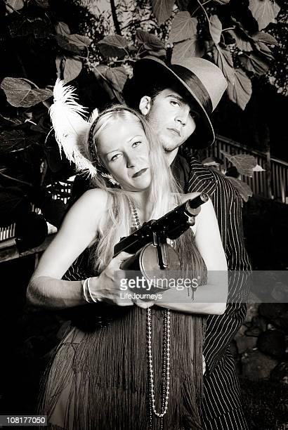 Gangster And His Gun Moll