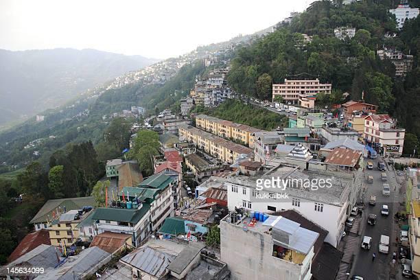 Gangtok city in Sikkim