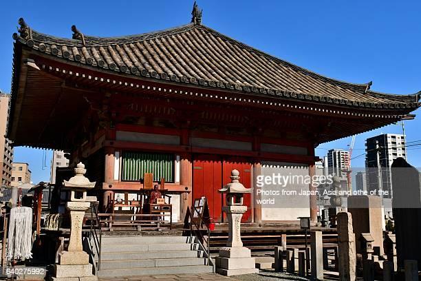 Ganzandaishi-do of Shitenno-ji Temple, Osaka, Japan