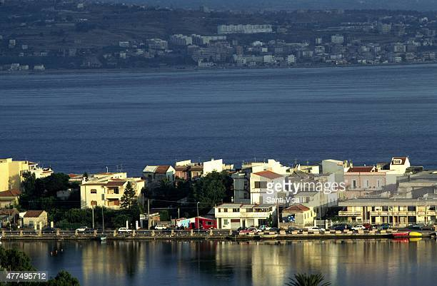Ganzirri Lake on the strait of Messina on August 15 1996 in Messina Sicily