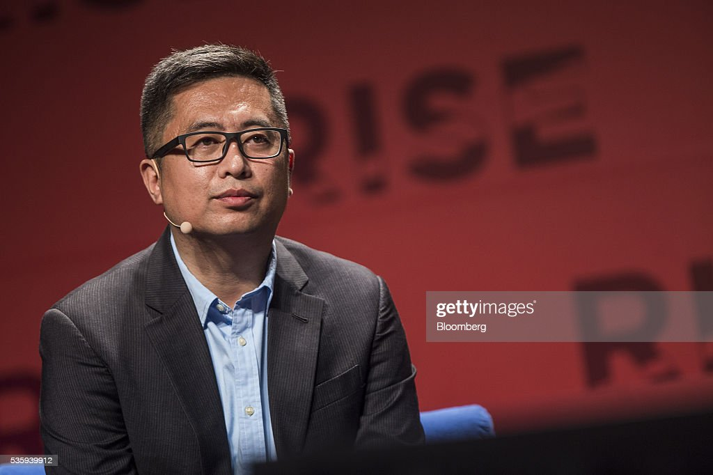 Gao Lufeng, founder and chief executive officer of Ninebot Inc., listens during the Rise conference in Hong Kong, China, on Tuesday, May 31, 2016. The conference runs through June 2. Photographer: Justin Chin/Bloomberg via Getty Images