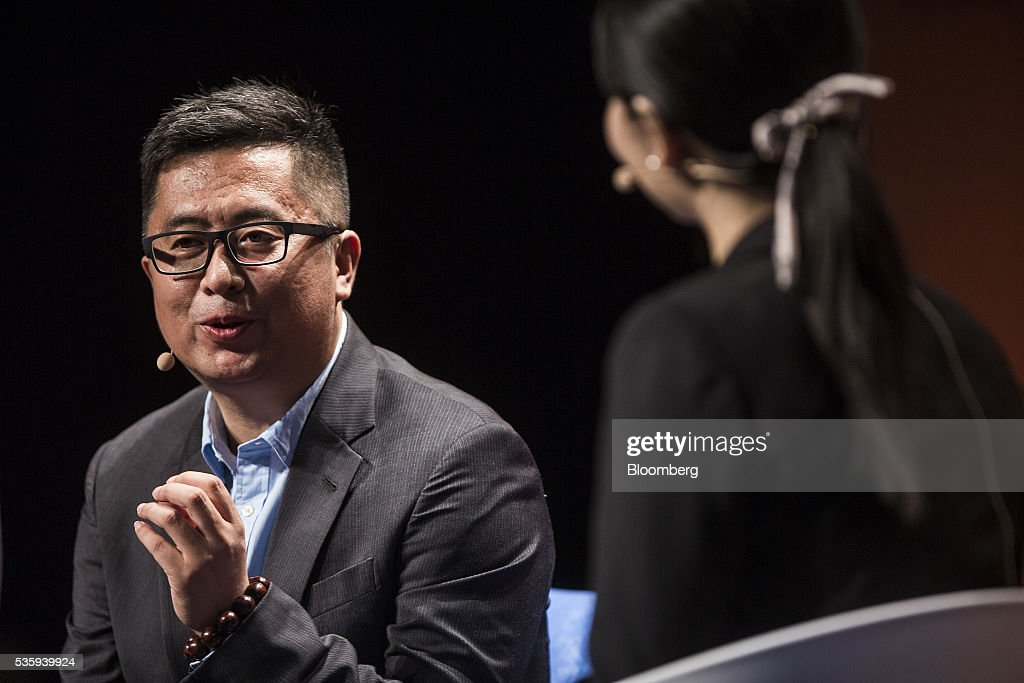 Gao Lufeng, founder and chief executive officer of Ninebot Inc., speaks during the Rise conference in Hong Kong, China, on Tuesday, May 31, 2016. The conference runs through June 2. Photographer: Justin Chin/Bloomberg via Getty Images
