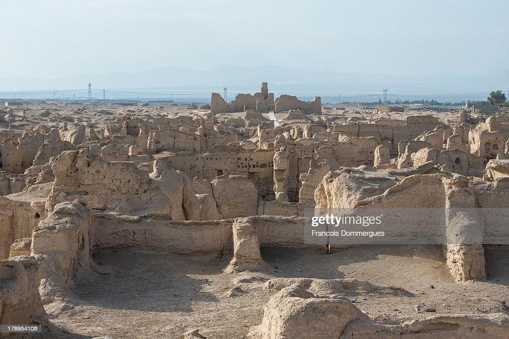 CONTENT] Gaochang is the site of an ancient oasis city built on the northern rim of the inhospitable Taklamakan Desert in Xinjiang, China. Nowadays, it is quite ruined, yet one can figure out the size of the old city through the magnitude of the site.