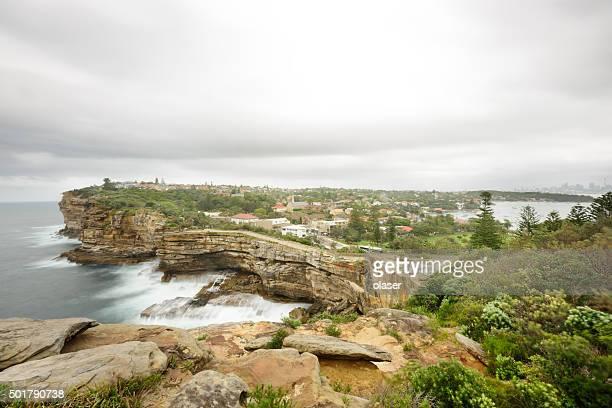 Gap, ocean cliff, Sydney, Watsons Bay, Vaucluse