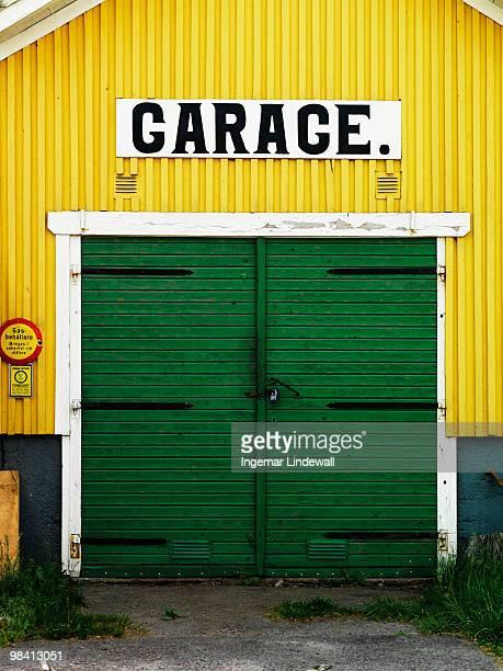 A garage Sweden.