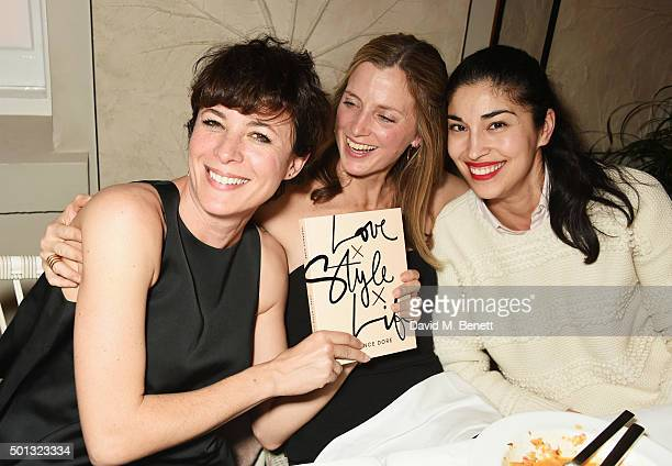 Garance Dore Amanda Brooks and Caroline Issa attend a private VIP dinner hosted by Club Monaco and Garance Dore in celebration of the 'Love Style...