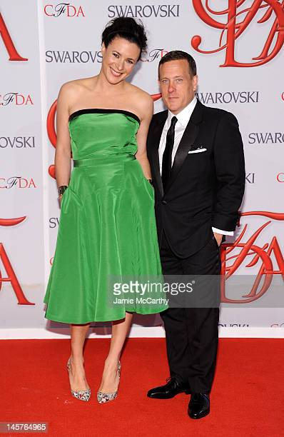 Garance Dore and Scott Schuman attend the 2012 CFDA Fashion Awards at Alice Tully Hall on June 4 2012 in New York City