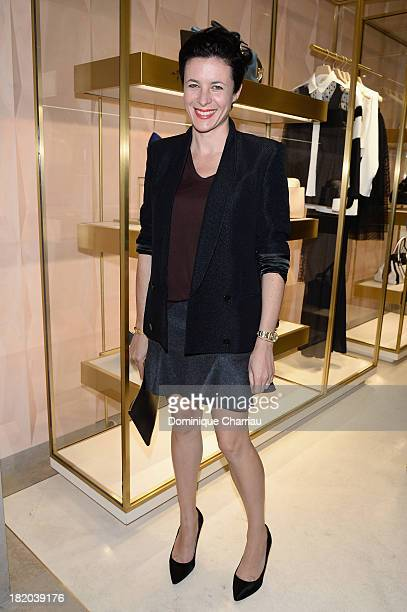Garance Dore attends 'Chloe Attitudes' book launch celebration cocktail as part of show as part of the Paris Fashion Week Womenswear Spring/Summer...