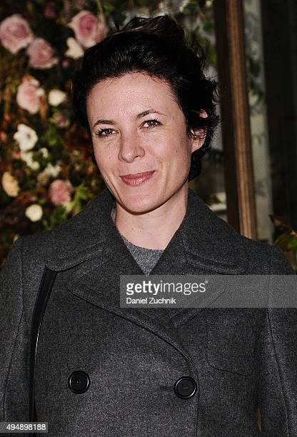 Garance Dore attends the Club Monaco Flagship Store Anniversary Event at Club Monaco Fifth Avenue on October 29 2015 in New York City