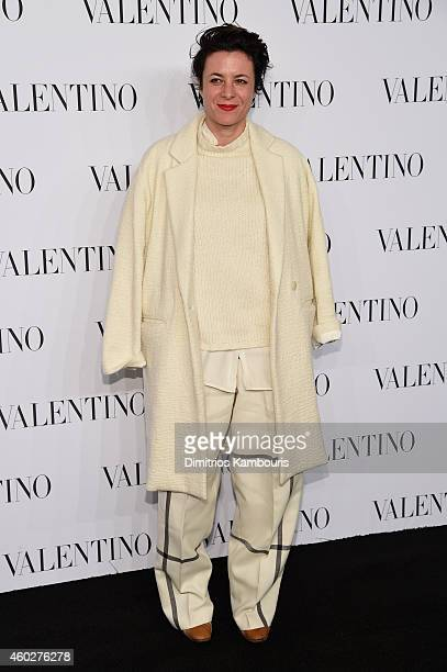 Garance Dore attends the Valentino Sala Bianca 945 Event on December 10 2014 in New York City