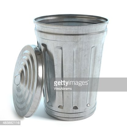 Garbage Can : Stock Photo