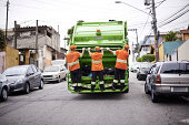 Garbage collection day- they cover the Tuesday shift