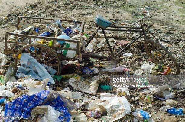 Garbage Scenes In India