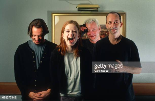 Garbage Shirley Manson Duke Erikson Steve Marker Butch Vig Holiday Inn City Hotel Brussels Belgium