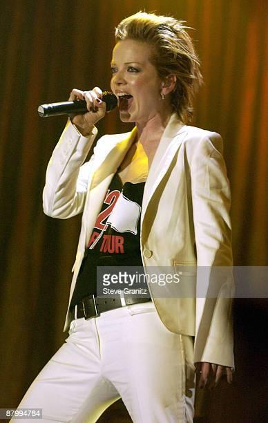 Garbage vocalist Shirley Manson