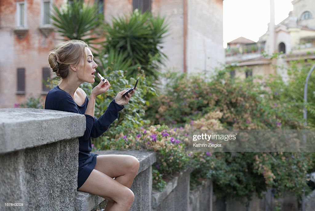 Garbatella girl : Stock Photo