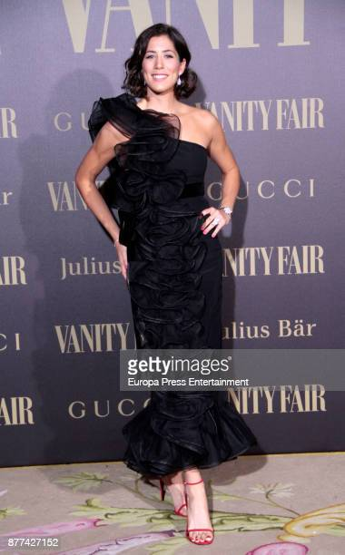Garbine Muguruza attends the award 'Vanity Fair Personality of the Year' to her at Ritz Hotel on November 21 2017 in Madrid Spain