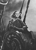 Garbo Greta Actress Sweden * Portrait in the film 'Queen Christina' Directed by Rouben Mamoulian USA 1933 Film Production MetroGoldwynMayer 1933