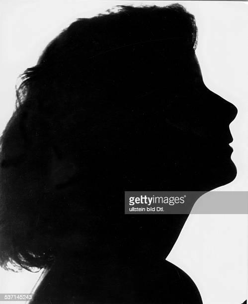 Garbo Greta Schauspielerin Schweden Silhouette 1931 Foto Clarence Sinclair Bull