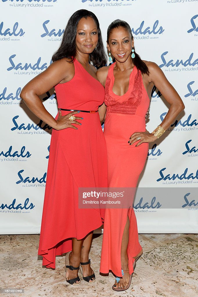 <a gi-track='captionPersonalityLinkClicked' href=/galleries/search?phrase=Garcelle+Beauvais&family=editorial&specificpeople=203112 ng-click='$event.stopPropagation()'>Garcelle Beauvais</a> (L) and <a gi-track='captionPersonalityLinkClicked' href=/galleries/search?phrase=Holly+Robinson+Peete&family=editorial&specificpeople=213716 ng-click='$event.stopPropagation()'>Holly Robinson Peete</a> attend the Gala Dinner and Awards during Day Three of the Sandals Emerald Bay Celebrity Getaway and Golf Weekend on September 29, 2013 at Sandals Emerald Bay in Great Exuma, Bahamas.