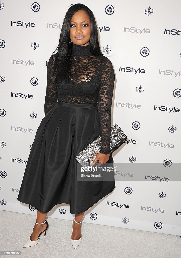 Garcelle Beauvais arrives at the 13th Annual InStyle Summer Soiree at Mondrian Los Angeles on August 14, 2013 in West Hollywood, California.