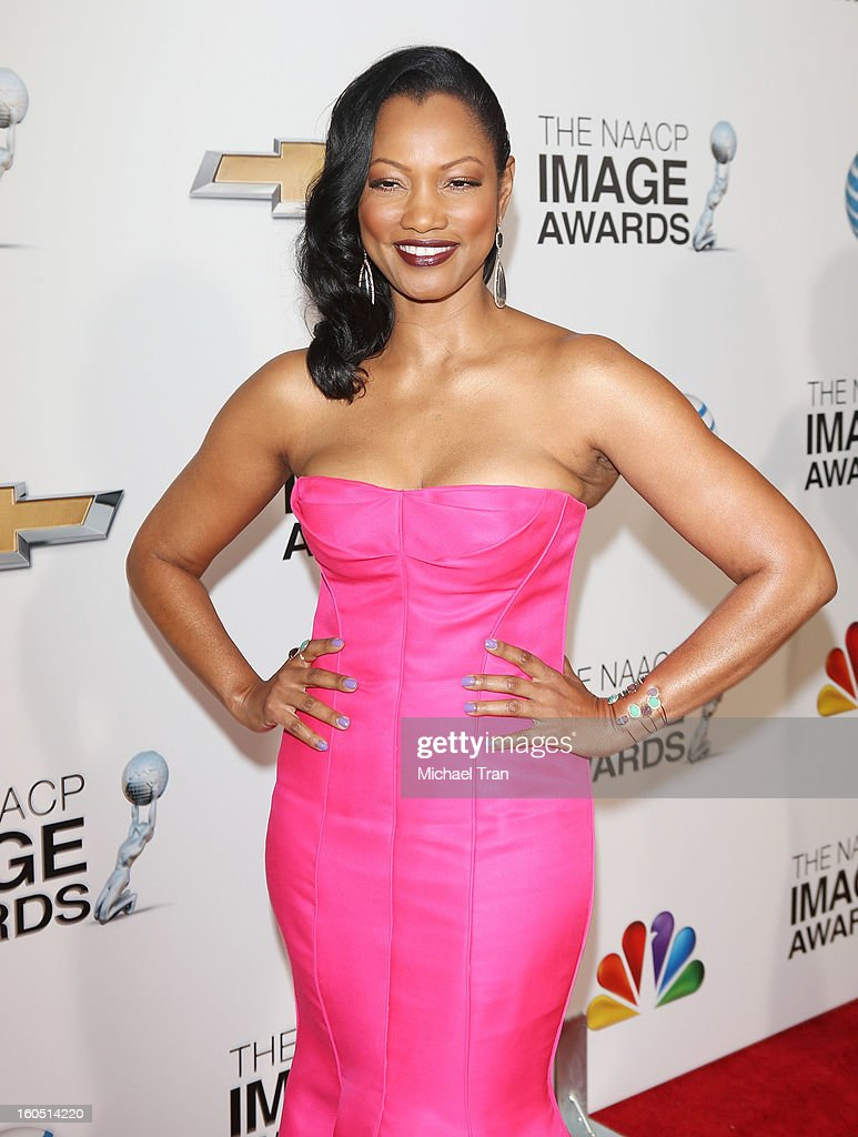 Garcelle Beauvais arrives at the 44th NAACP Image Awards held at The Shrine Auditorium on February 1, 2013 in Los Angeles, California.