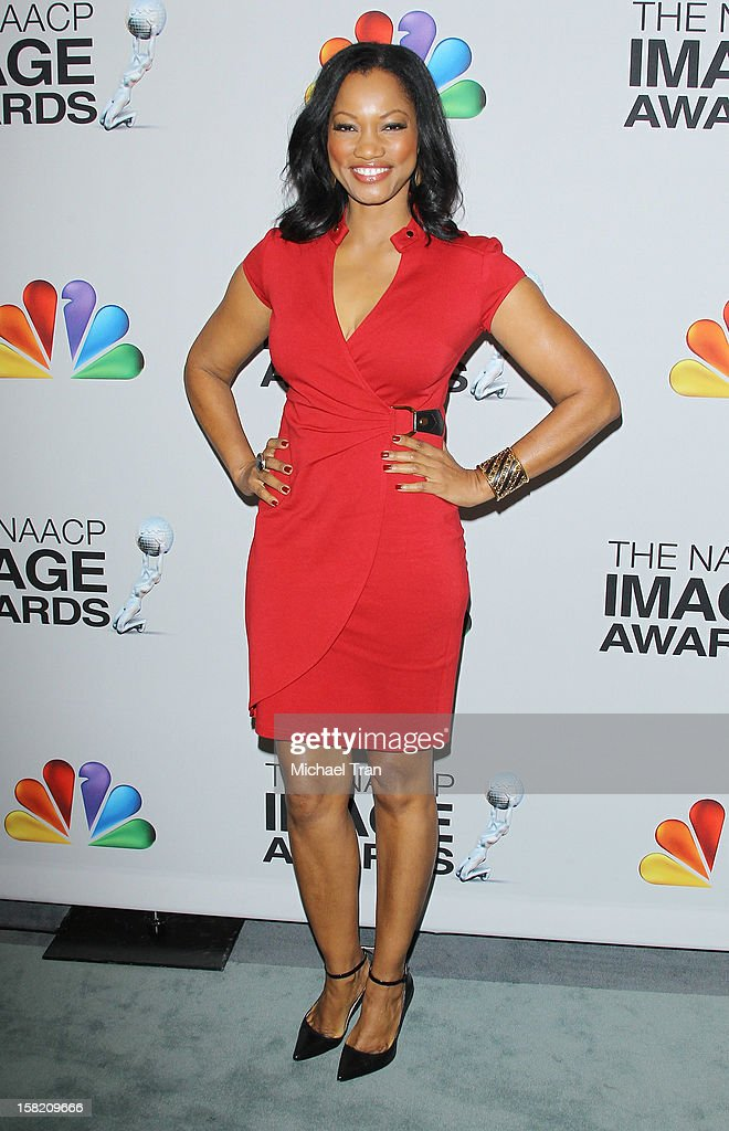 Garcelle Beauvais arrives at the 44th NAACP Image Awards nominations announcement held at The Paley Center for Media on December 11, 2012 in Beverly Hills, California.