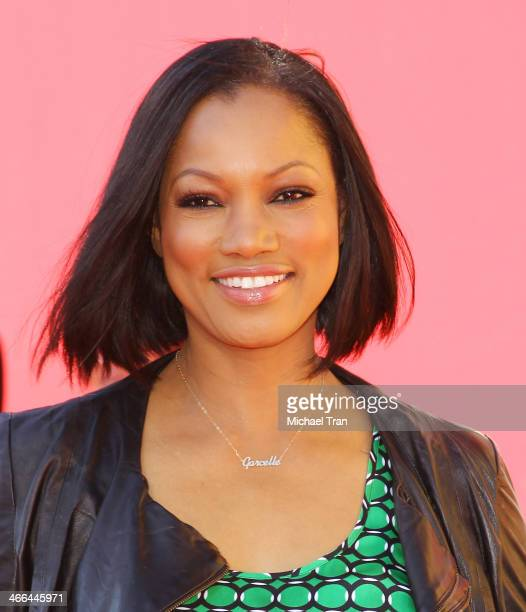 Garcelle Beauvais arrives at the Los Angeles premiere of 'The Lego Movie' held at Regency Village Theatre on February 1 2014 in Westwood California