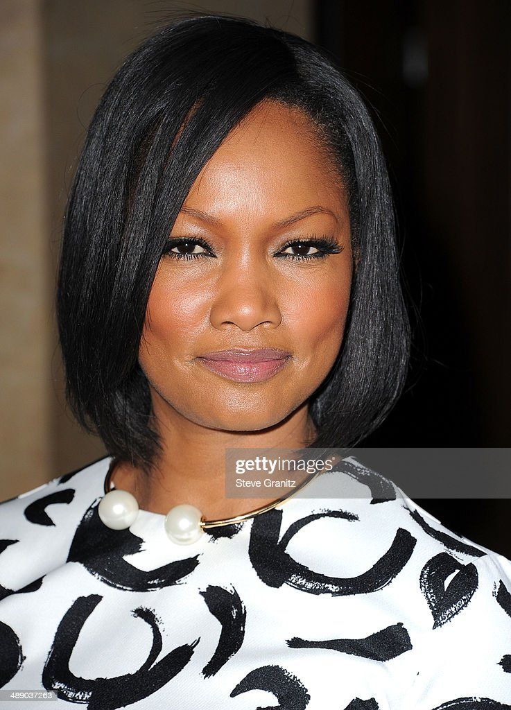 Garcelle Beauvais arrives at the The Helping Hand Of Los Angeles Mother's Day Luncheon at The Beverly Hilton Hotel on May 9, 2014 in Beverly Hills, California.