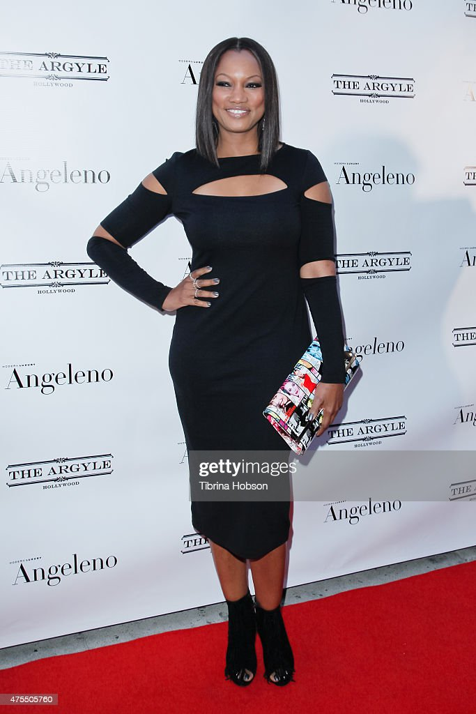 Garcelle Beauvais attends Angeleno Magazine's June issue release party at The Argyle on May 31 2015 in Hollywood California