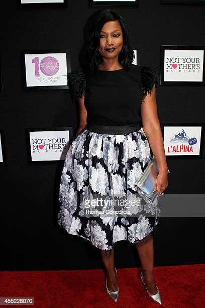 Garcelle Beauvais attends ELLE Runway Collection By Kohl's STYLE360 Spring/Summer 2015 Collections on September 10 2014 in New York City