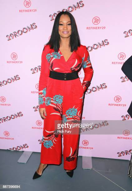 Garcelle Beauvais attends Refinery29 29Rooms Los Angeles Turn It Into Art Opening Night Party at ROW DTLA on December 6 2017 in Los Angeles California