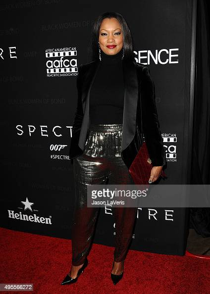 Garcelle Beauvais attends 'Spectre' The Black Women of Bond Tribute at California African American Museum on November 3 2015 in Los Angeles California