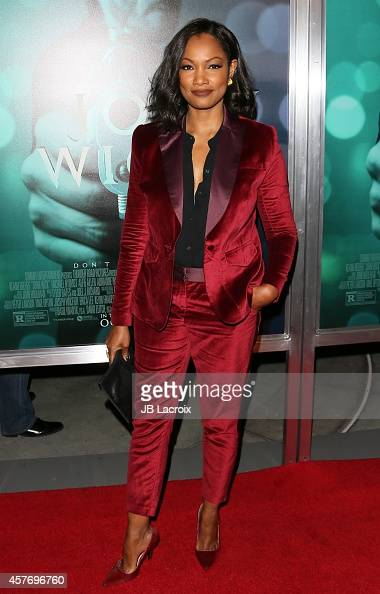 Garcelle Beauvais attends Summit Entertainment's premiere of 'John Wick' at the ArcLight Theater on October 22 2014 in Hollywood California