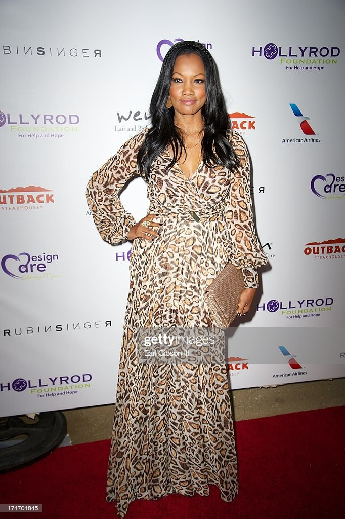 Garcelle Beauvais attends the 15th Annual DesignCare on July 27, 2013 in Malibu, California.