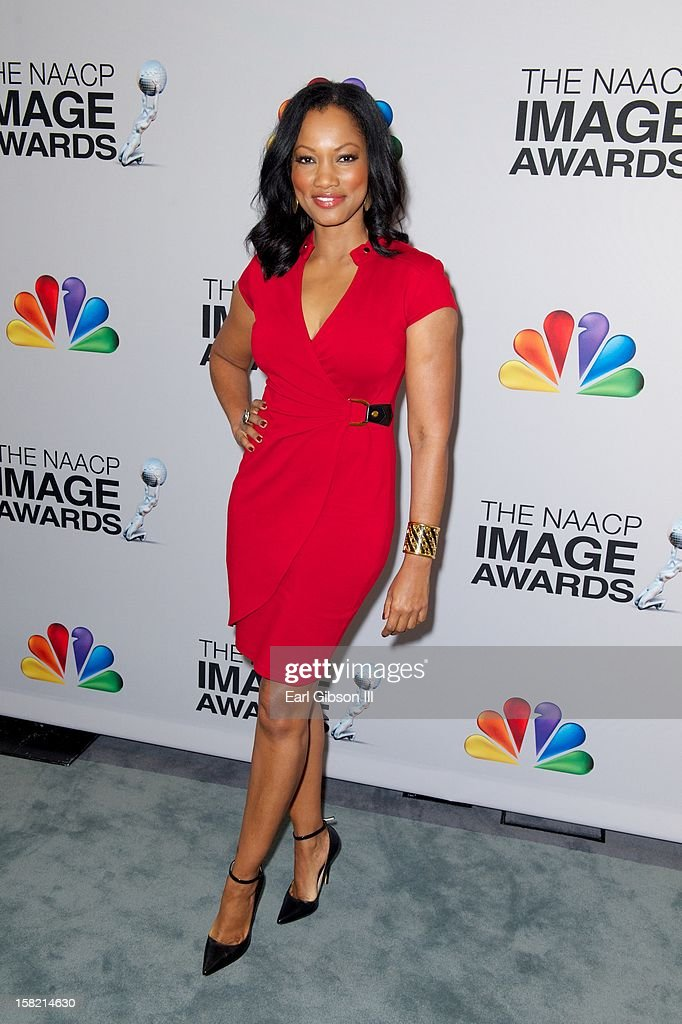 Garcelle Beauvais attends the 44th NAACP Image Awards Press Conference at The Paley Center for Media on December 11, 2012 in Beverly Hills, California.
