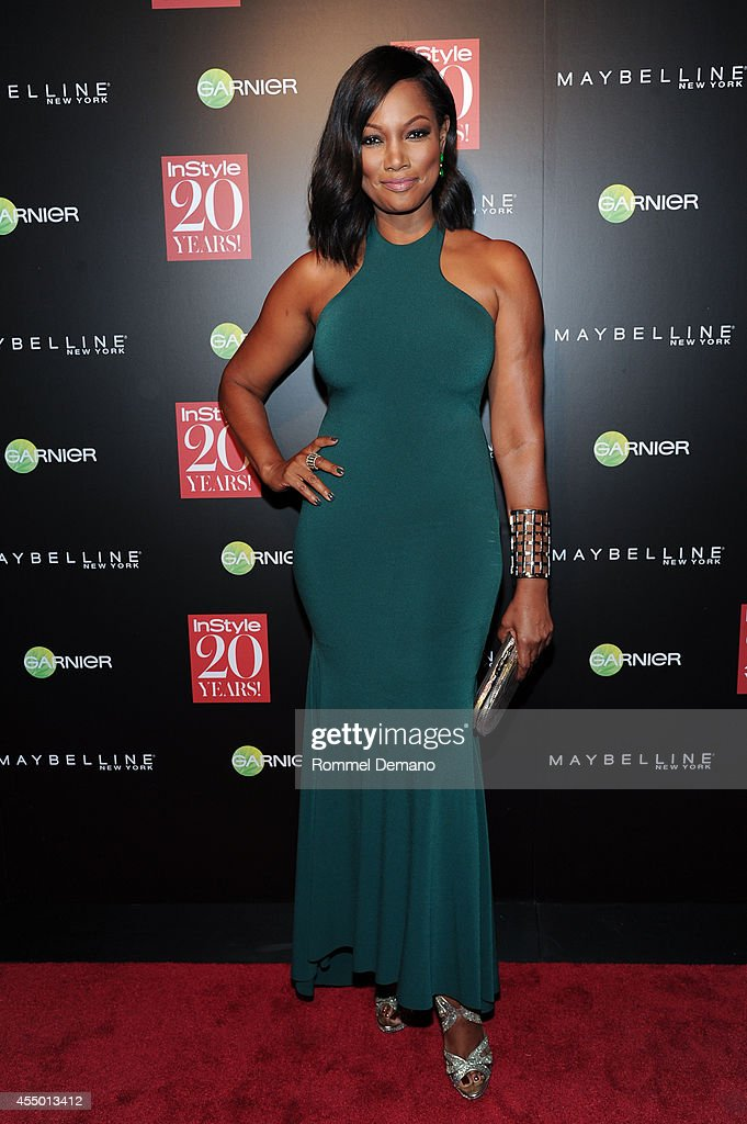 Garcelle Beauvais attends the Instyle Hosts 20th Anniversary Party at Diamond Horseshoe at the Paramount Hotel on September 8 2014 in New York City