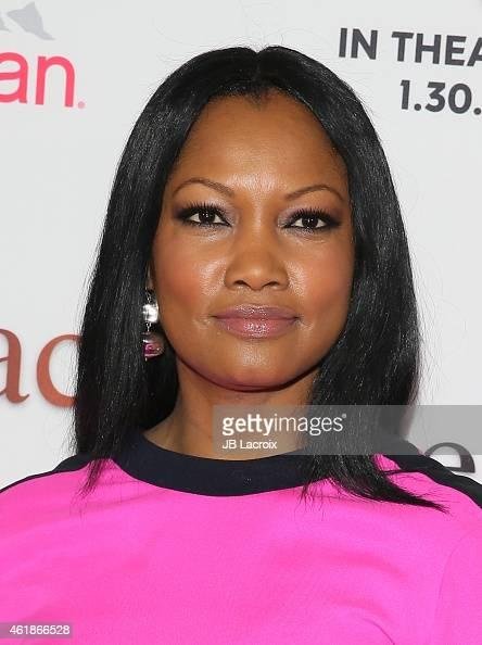 Garcelle Beauvais attends the Los Angeles premiere of 'Black or White' held at Regal Cinemas on January 20 2015 in Los Angeles California