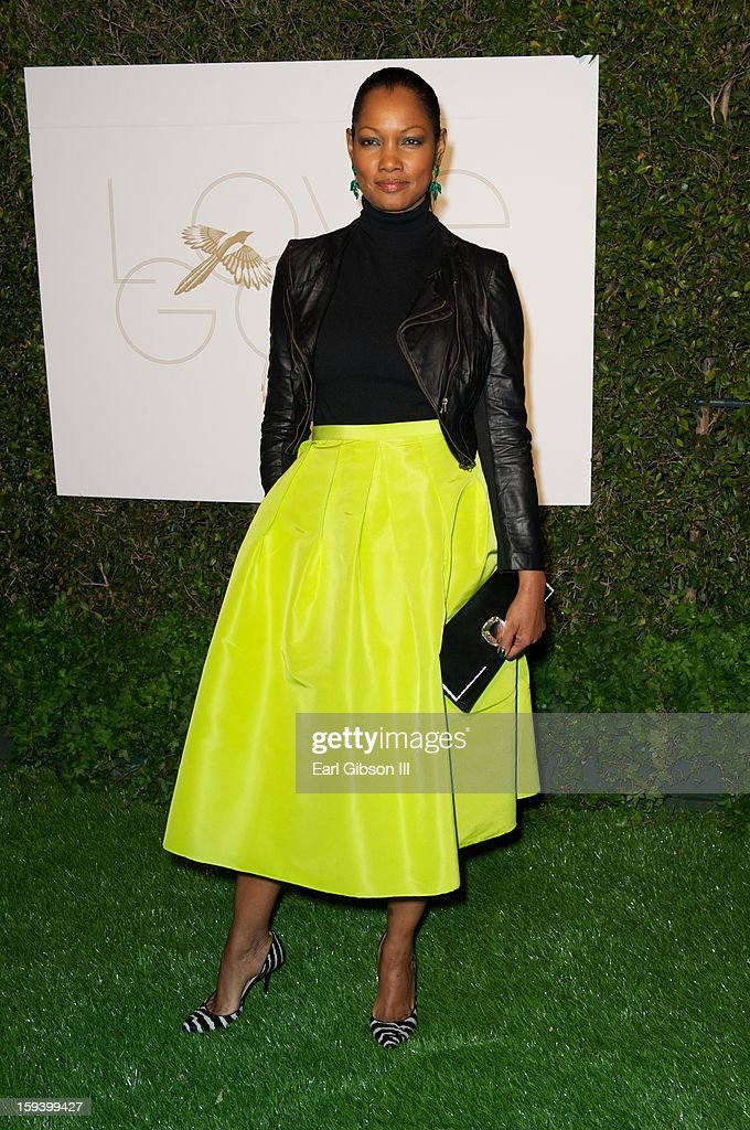 Garcelle Beauvais attends the LoveGold party at Chateau Marmont on January 12, 2013 in Los Angeles, California.