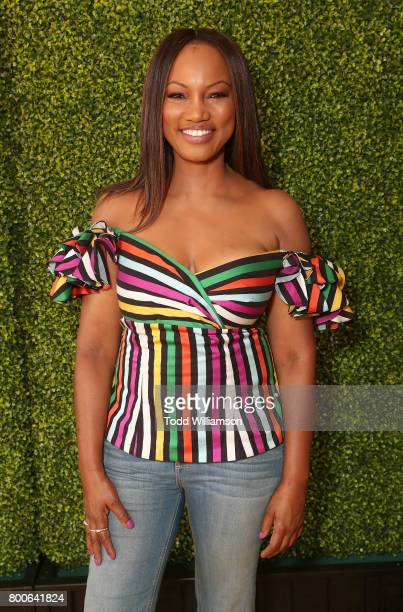 Garcelle Beauvais attends the Premiere Of Universal Pictures And Illumination Entertainment's 'Despicable Me 3' at The Shrine Auditorium on June 24...