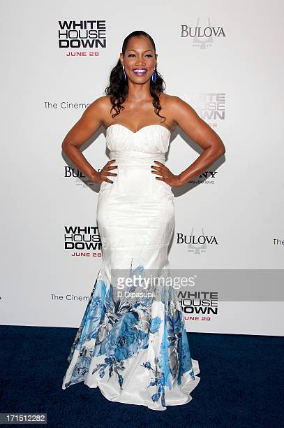 Garcelle Beauvais attends the 'White House Down' premiere at the Ziegfeld Theater on June 25 2013 in New York City